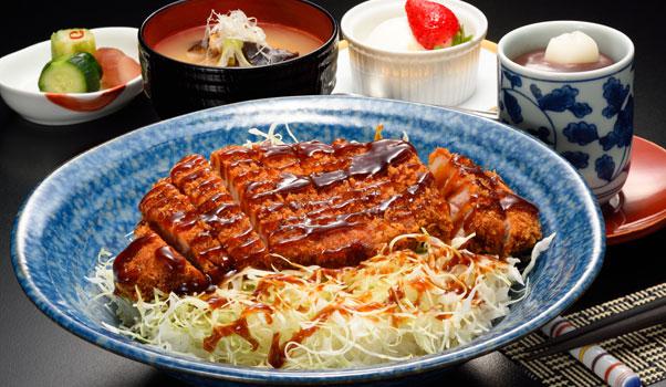 ソースカツ丼(味噌汁付)